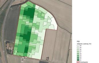 Fig 3 Task map planting density